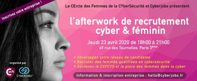 Cyber job dating 23 Avril 2020