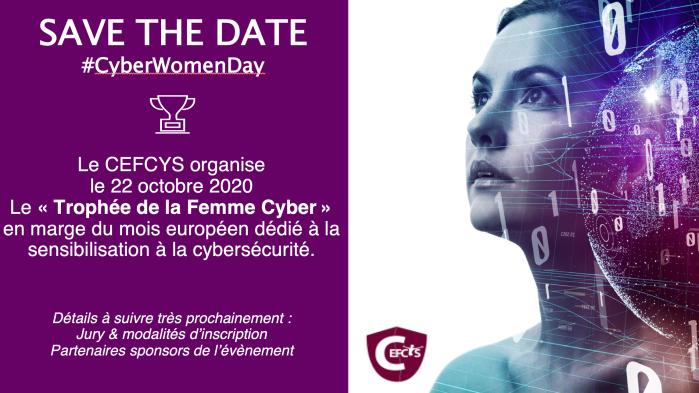 Trophée de la femme cyber 12 octobre 2020